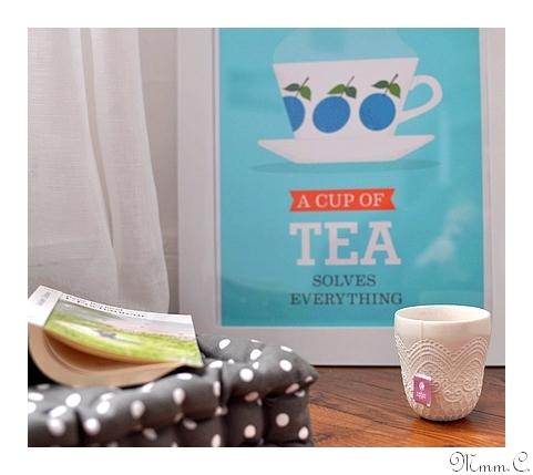 thème heure du thé
