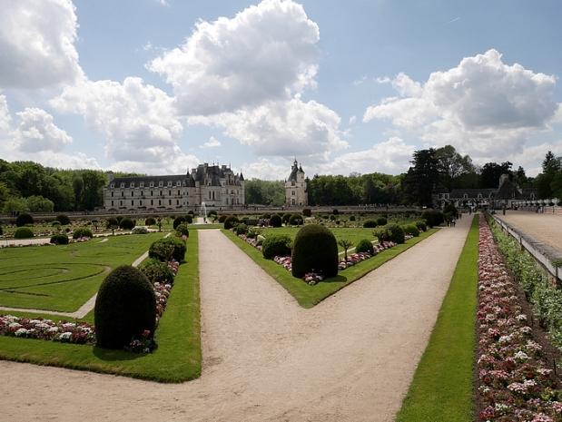 chenonceau jardin 3 pf