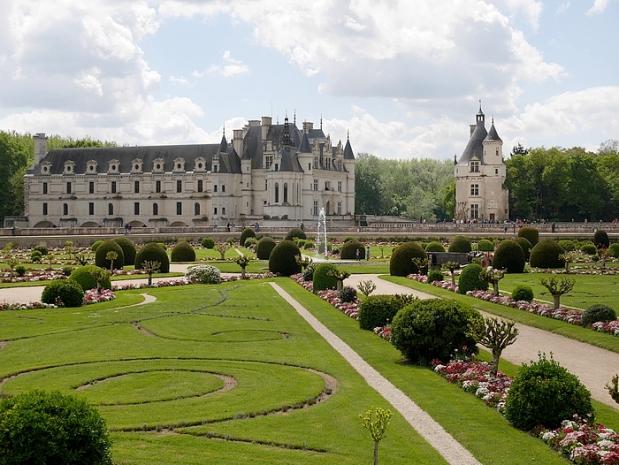 chenonceau jardin 4 pf